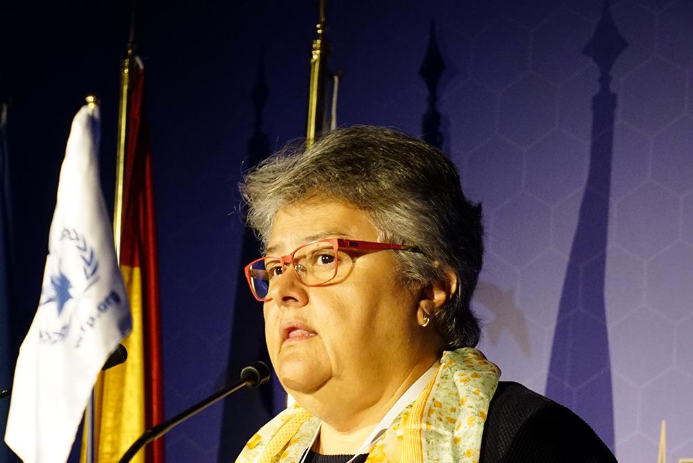 ACVFFI's Chiarwoman speaking