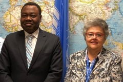 ICAO PResident and ACVFFI Chair